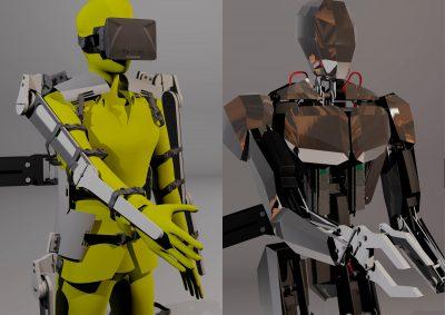 Freerk Wieringa – Android / Humanoid Exoskeleton